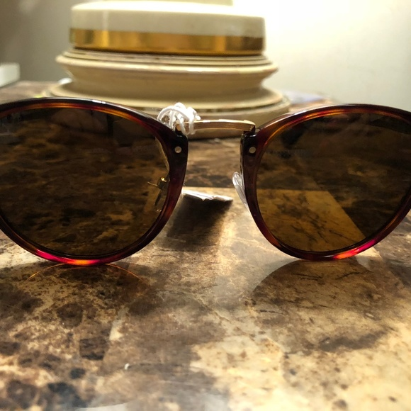 dc6e51b78fc5 Persol Typerwriter Edition Brown Sunglasses New. M_5b9c69f63e0caa946fe7d22d